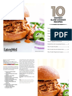 EatingWell Top Slow Cooker Recipes Cookbook