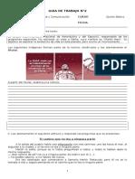 Lenguaje - Guia 2 - 5 Basico