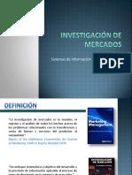 Investigación de Mercados Unidad 1