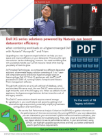 A Dell and Nutanix solution can boost datacenter efficiency