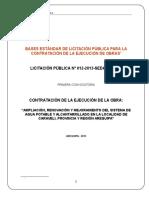 Bases de Licitacion Obras CARAVELI