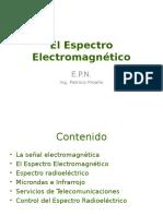 SPECTRO ELECTROMAGNETICO INVESTIGACION
