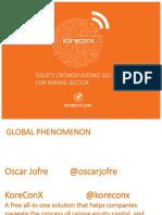 Plenary 5 - Oscar Jofre - Alternative Financing Models