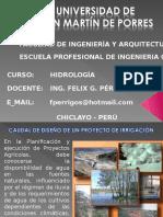 Hidrologia - San Martin