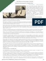 """""""Centro y Periferia en El Marxismo de Posguerra""""_ Claudio Katz"""