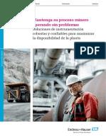 Soluciones de Instrumentacion en Mineria