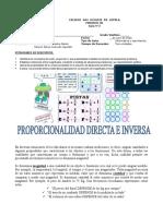 Guía 2 Magnitudes Inversas y Directas