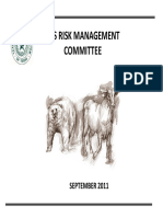 Board Meeting Risk Management Committee Sep2011