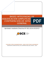 Bases Integradas Mantenimiento