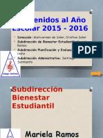 Bienvenida (EDURED)