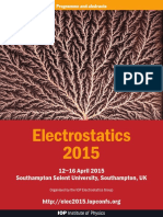 Electrostatics 2015 Abstract Book - DIGITAL COPY