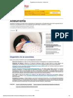 Diagnóstico de Un Aneurisma - Salud Al Día