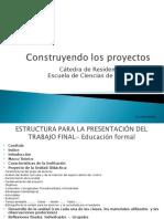 Construyendo El Proyecto