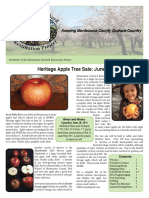 Montezuma Orchard Restoration Project (MORP) Spring Newsletter 2016