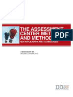 Assessment Center Methods