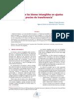 Valoración de Los Bienes Intangibles en Ajustes Por Precios de Transferencia - Cosín Ochaíta
