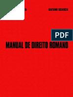Manual sobre Direito Romano