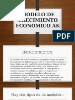 Modelo de Crecimiento Economico Ak (1) Juan