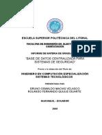 TESIS BASE DE DATOS CENTRALIZADA PARA SISTEMAS DE SEGURIDAD.doc