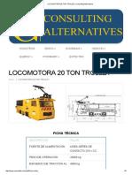 LOCOMOTORA 20 TON TROLLEY _ Consulting Alternatives.pdf