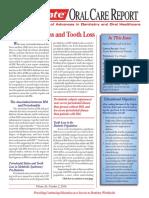 Oral care Report