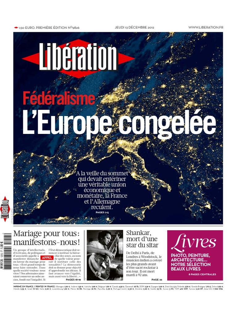 12 12 13 Libération | Zone euro | Corée du Nord