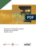 Guia Para La Formulacion de Planes de Desarrollo