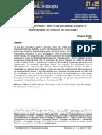 Artigo 02 - Dificuldades No Uso Das Tic Pelos Professores