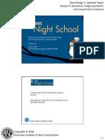 Night School 10 Session 5
