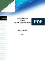 Nevion Sublime CP Manual