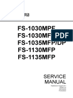 Fs 1030mfp 1035mfp 1130mfp 1135mfp Sm Uk (1) Service Manual