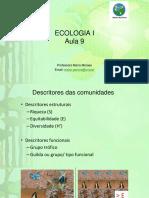Ecologia - Comunidades e Cadeia Alimentar