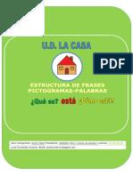 Cuadernillo Estructura Frases COMO ESTA UD LA CASA
