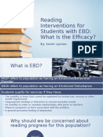 reading interventions for students with ebd