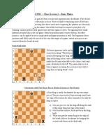 Chess Lesson 2