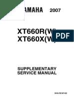 XT660X-R 2007 Service Manual
