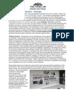 Jessops Edition 16 Lesson Resource Political Factors