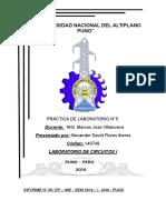 Informe 05 Laboratorio de Circuitos 1