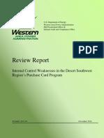 DSW GPC Audit December 2014