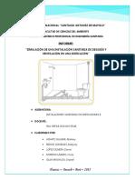 Informe - Simulación INSTALACIONES SANITARIAS