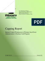 WAPA GPC Capping Report