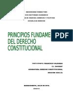 PRINCIPIOSFUNDAMENTALES DEL DERECHO CONSTITUCIONAL