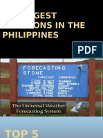 Strongest Typhoons in the Philippines