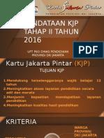 PAPARAN PENDATAAN KJP 2016