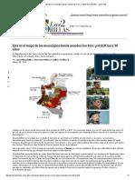 2015 Feb 28 Este Es El Mapa de Los Municipios Donde Mandan Las Farc y El ELN Hace 30 Años - Las2orillas