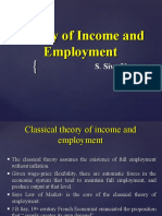 theory of income and employment