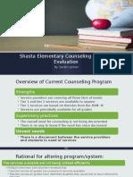 elementary counseling program evaluation