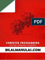 BILAL AHMED SHAIK Computer Programming