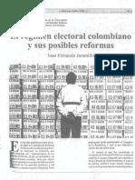 Jaramillo art. Regimen electoral y sus reformas.pdf
