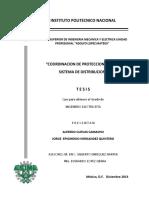 Coordinacion de Protecciones en Un Sistema de Distribucion.